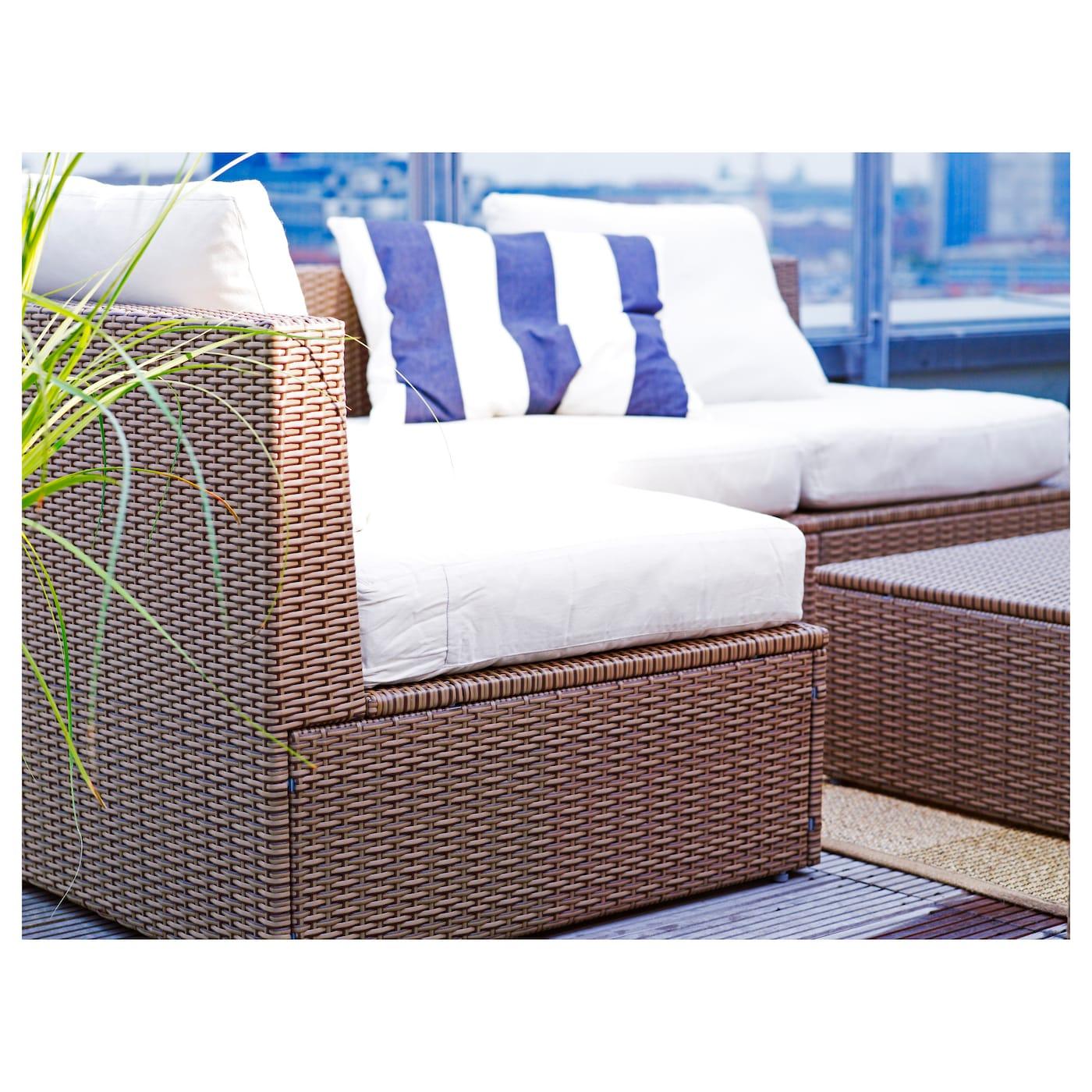 ARHOLMA Seat cushion outdoor Beige 65x65 cm IKEA