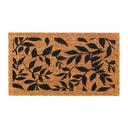 ÅRHUS Door mat IKEA The anti-slip backing keeps the door mat firmly in place and reduces the risk of slipping.