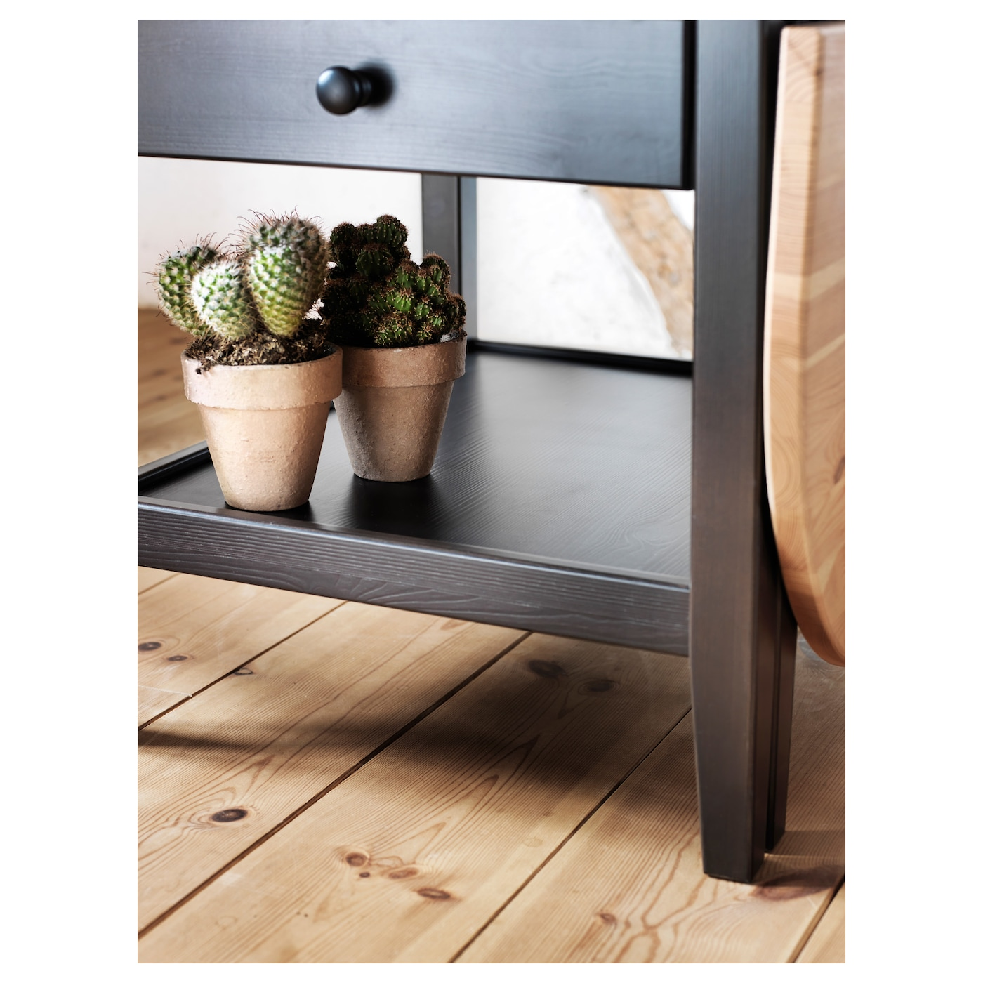 ARKELSTORP Coffee table Black 65x140x52 cm IKEA