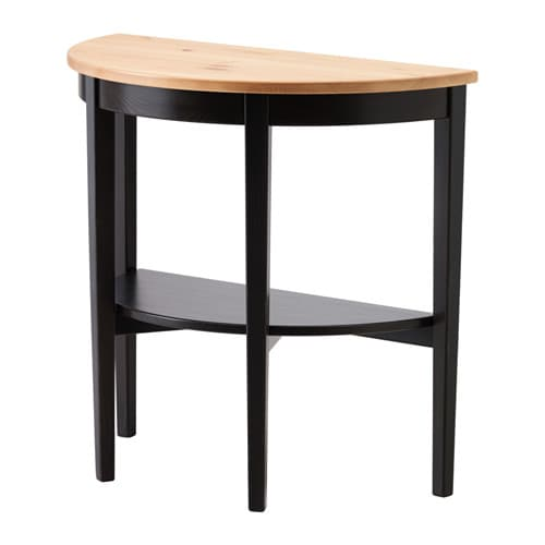 ARKELSTORP Window table IKEA Solid wood is a durable natural material.  Separate shelf for magazines, etc.