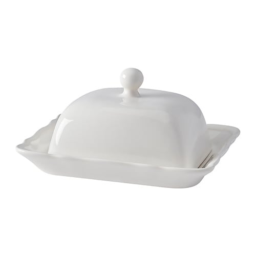 Arv butter dish white ikea - Dish chair ikea ...