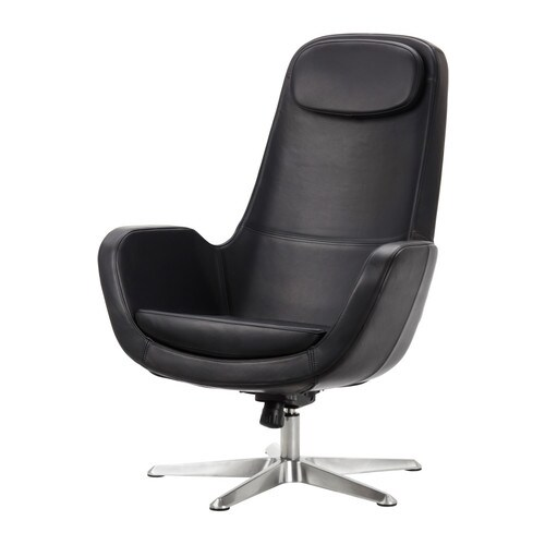 ARVIKA Swivel armchair IKEA Adjustable tilt tension which is easy to set to suit your movements and weight.