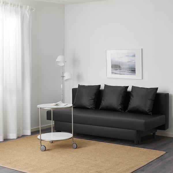 Asarum 3 Seat Sofa Bed Idhult Black Ikea