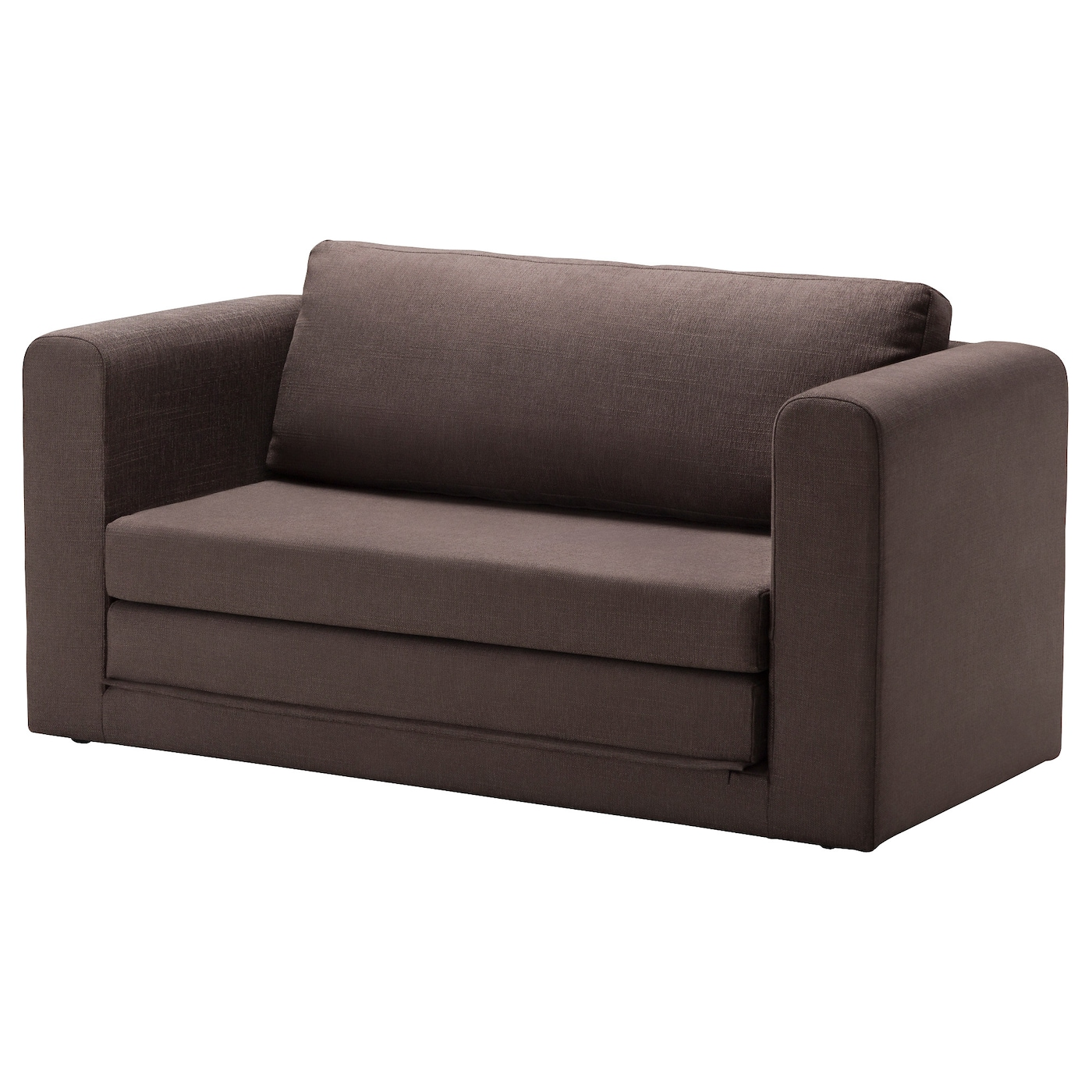 Sofa Bed askeby two-seat sofa-bed tullinge grey/brown - ikea