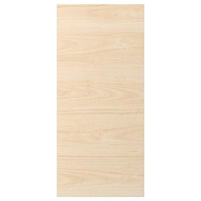 ASKERSUND cover panel light ash effect 39.0 cm 86 cm 39 cm 86.0 cm 1.3 cm