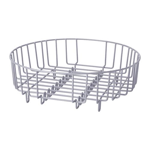 IKEA ATLANT dish drainer/rinsing basket Fits in a rectangular sink; makes rinsing easy.