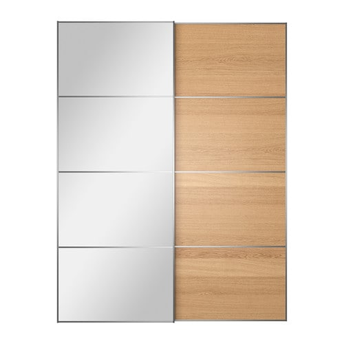 AULI / ILSENG Pair of sliding doors IKEA 10 year guarantee.   Read about the terms in the guarantee brochure.