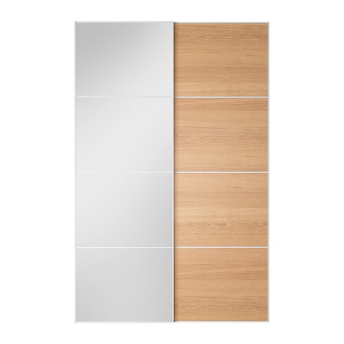 AULI ILSENG Pair Of Sliding Doors IKEA 10 Year Guarantee Read About