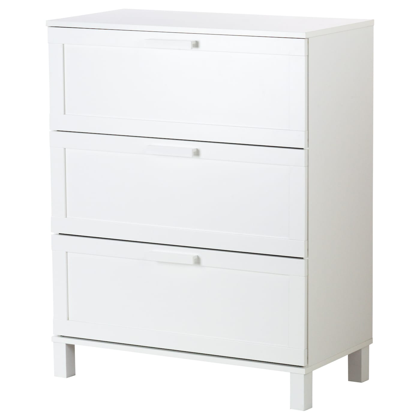 ikea austmarka chest of 3 drawers smooth running drawer with pull out