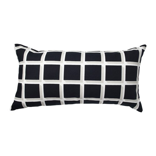 IKEA AVSIKTLIG cushion The polyester filling holds its shape and gives your body soft support.