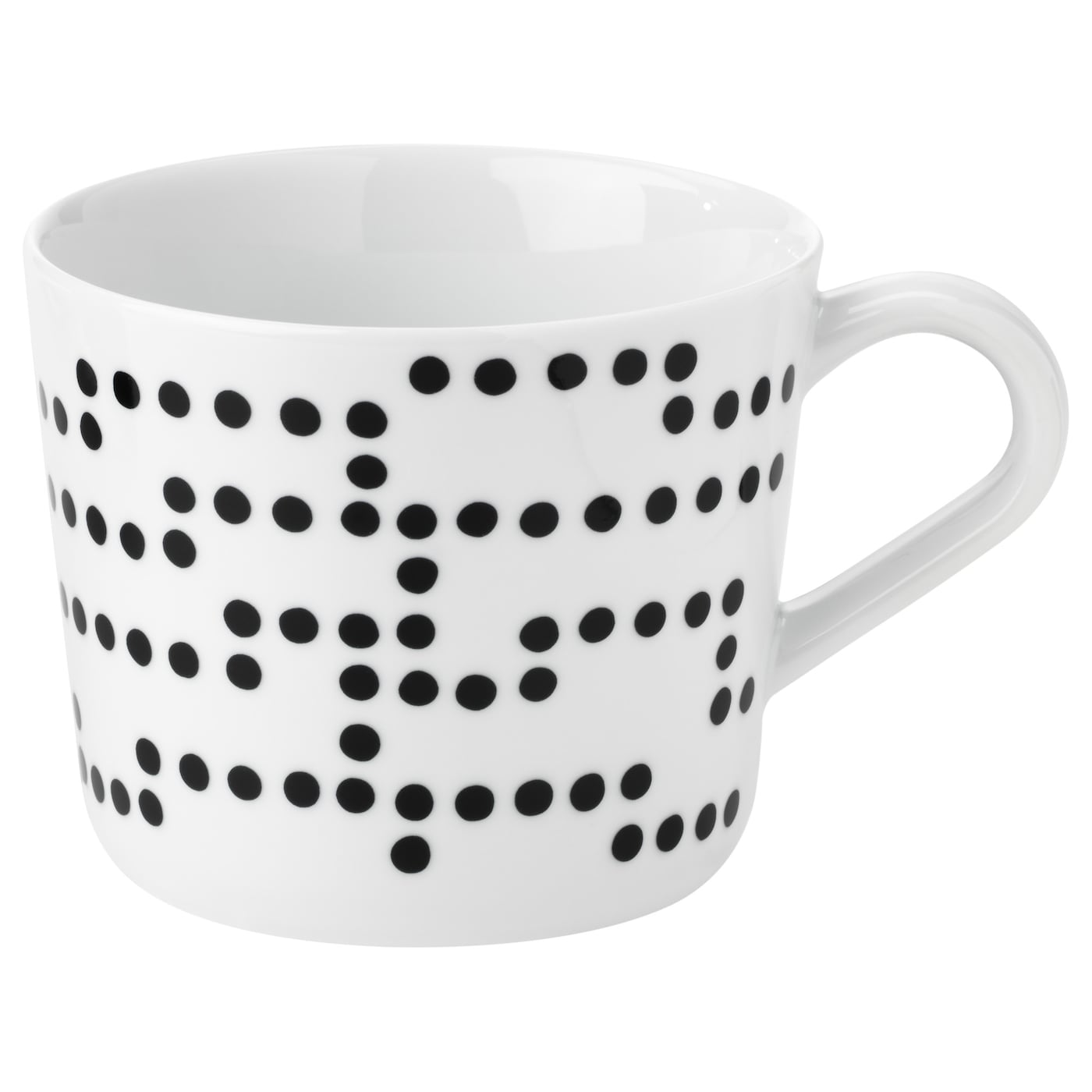 IKEA AVSIKTLIG mug Made of feldspar porcelain, which makes the mug impact resistant and durable.