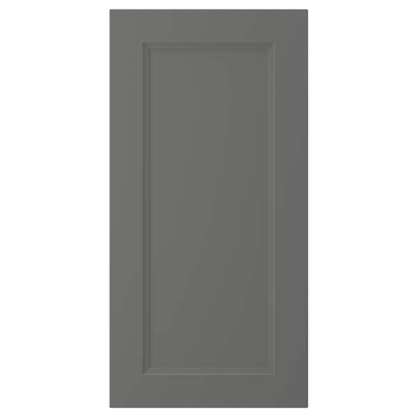 AXSTAD door dark grey 39.7 cm 80.0 cm 40.0 cm 79.7 cm 2.0 cm