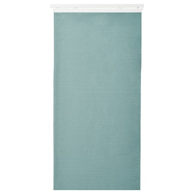 BACKSILJA Panel curtain, blue-grey, 60x300 cm