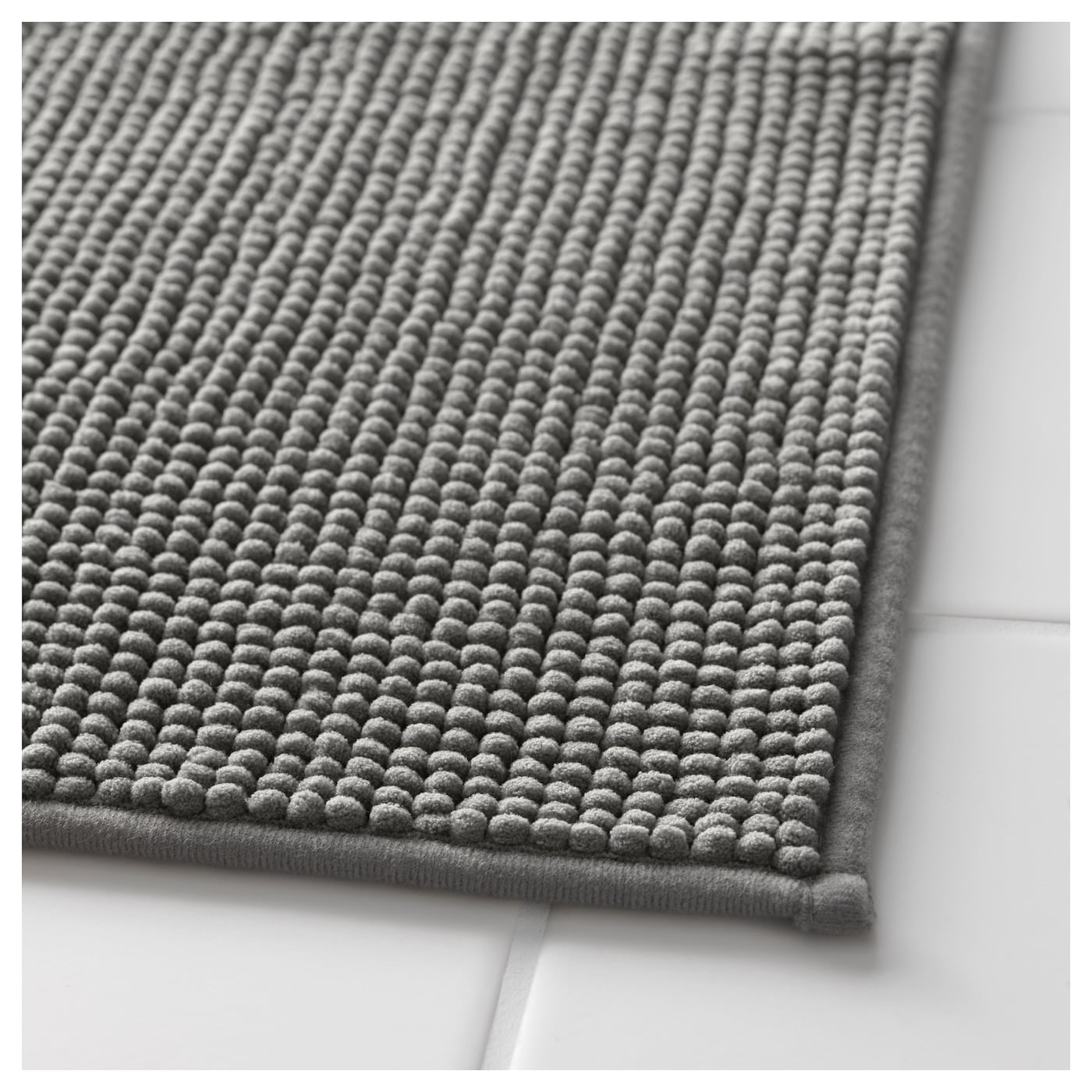 Can Bathroom Rugs Go In The Dryer: BADAREN Bath Mat Grey 40x60 Cm