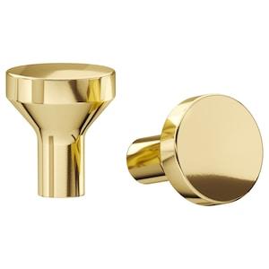 Colour: Brass-colour.
