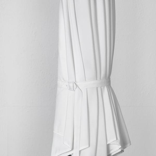 BAGGÖN Parasol, hanging, white, 250 cm