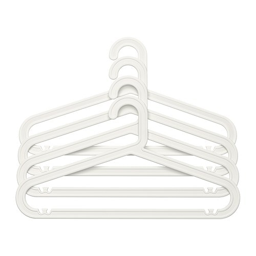 Bagis hanger in outdoor white ikea for Hanger for clothes ikea