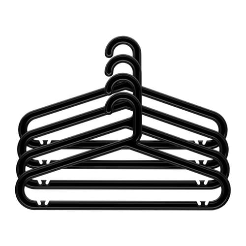 BAGIS Clothes-hanger IKEA Suitable for both indoor and outdoor use.  Plastic treated with UV protection to delay its ageing.