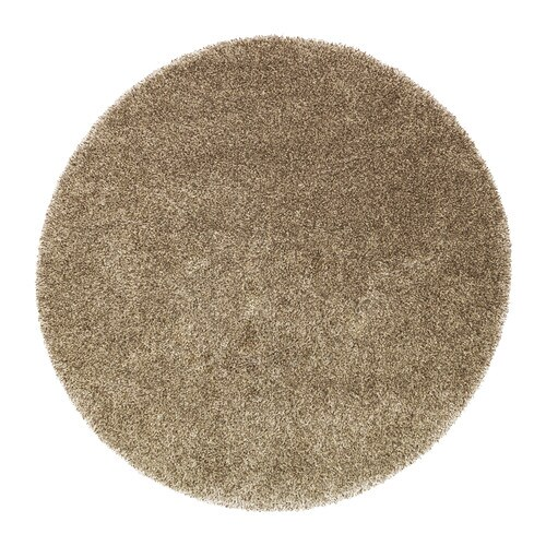 BÄLUM Rug, high pile IKEA The thick pile dampens sound and provides a soft surface to walk on.
