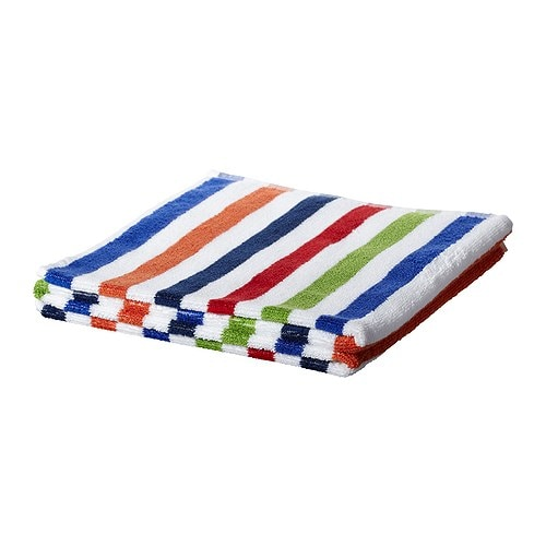 BANDSJÖN Bath towel IKEA A terry towel in medium thickness that is soft and highly absorbent (weight 500 g/m²).