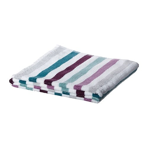BANDSJÖN Washcloth IKEA A terry towel in medium thickness that is soft and highly absorbent (weight 500 g/m²).