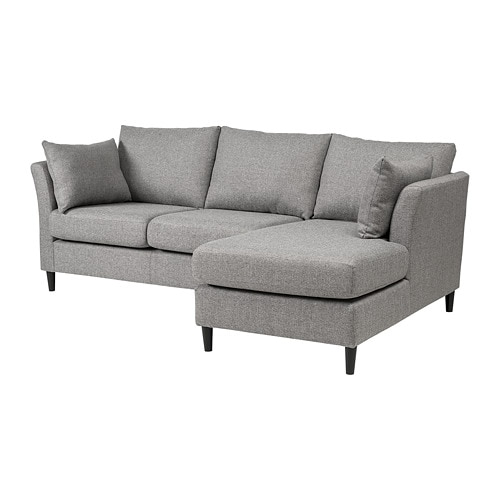 Ikea Bankeryd 2 Seat Sofa W Chaise Longue Right