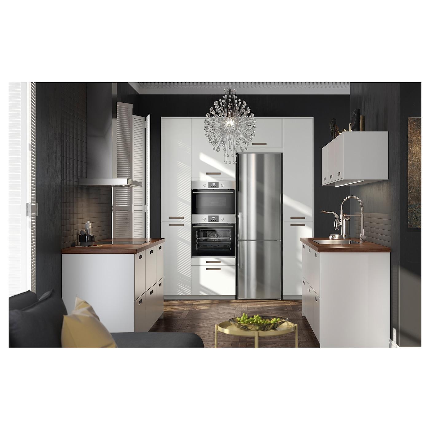Walnut Mixed Material Ikea Kitchen: BARKABODA Worktop Walnut 186 X 3.8 Cm