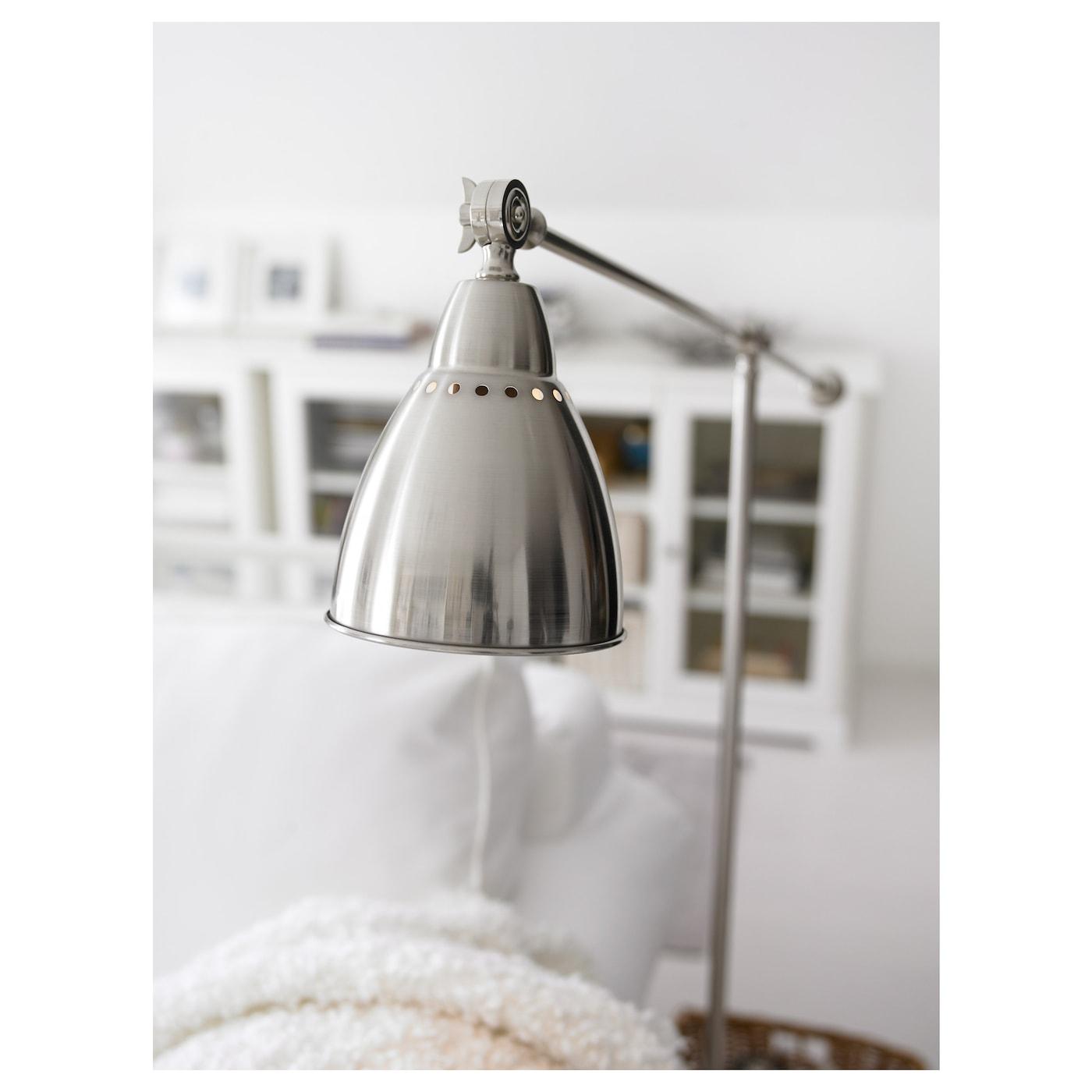 BAROMETER Floorreading lamp Nickelplated IKEA