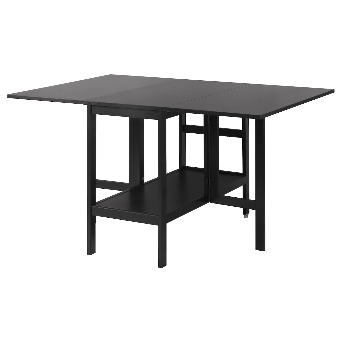 BARSVIKEN Drop leaf table Black 4590135x93 cm IKEA : barsviken drop leaf table black0368936pe549759s5 from www.ikea.com size 2000 x 2000 jpeg 142kB