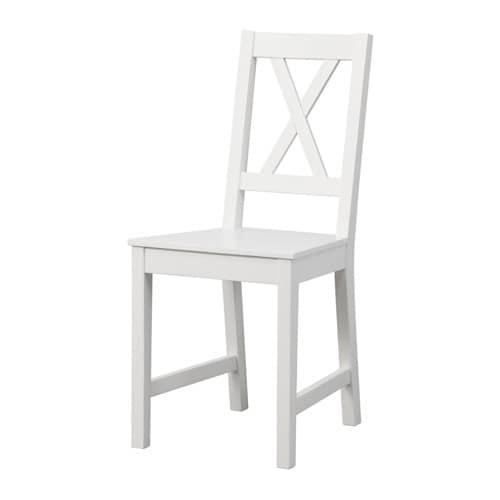 Bassalt chair white ikea for Design stuhl leisure