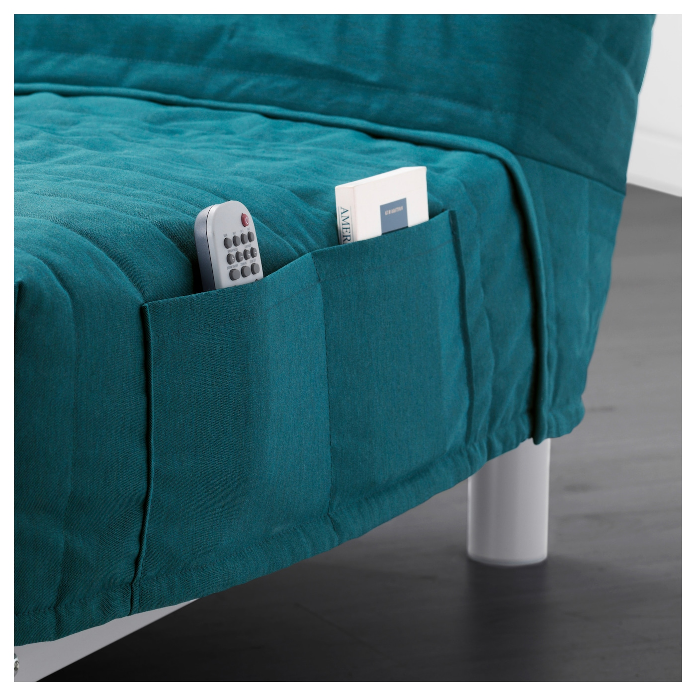 BEDDINGE L V S Three Seat Sofa Bed Knisa Turquoise IKEA