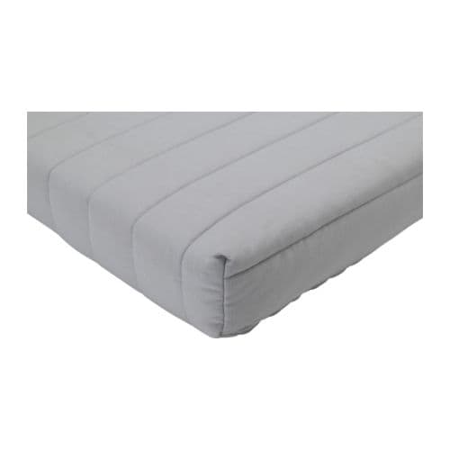 BEDDINGE MURBO Mattress IKEA Comfortable and firm foam mattress for use every night.