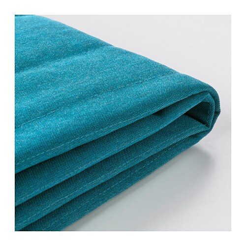 Beddinge Three Seat Sofa Bed Cover Knisa Turquoise Ikea