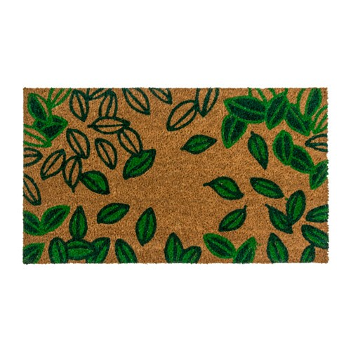 BEDERSLEV Door Mat Green/natural 40x70 Cm