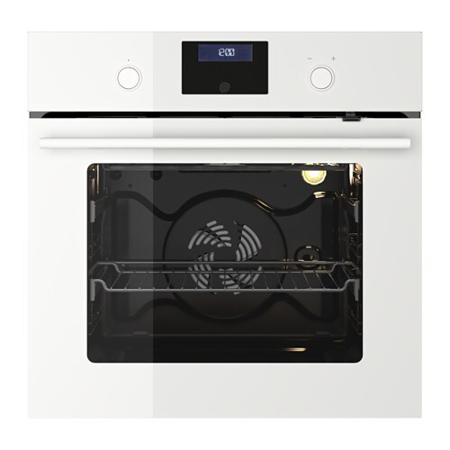IKEA BEJUBLAD oven 5 year guarantee. Read about the terms in the guarantee brochure.