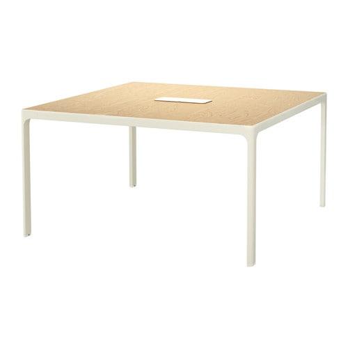 Ikea Schreibtisch Unterlage ~ colour birch veneer black birch veneer white black brown black black