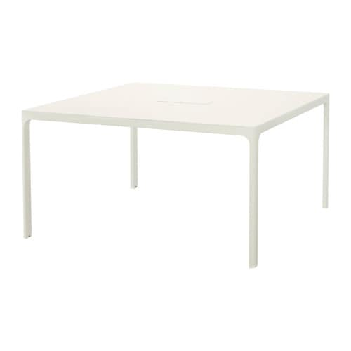 IKEA BEKANT conference table 10 year guarantee. Read about the terms in the guarantee brochure.