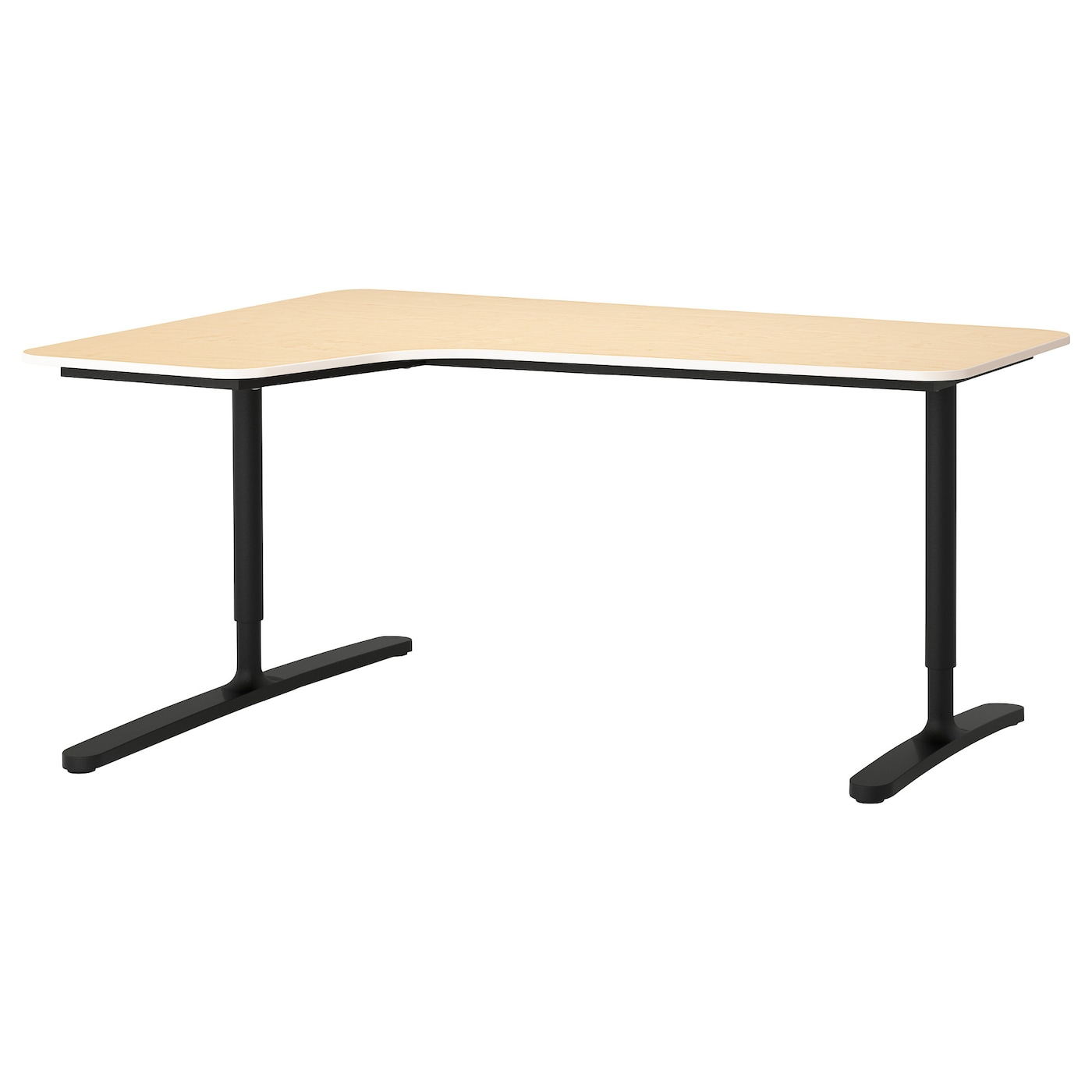 IKEA BEKANT corner desk left 10 year guarantee. Read about the terms in the  guarantee