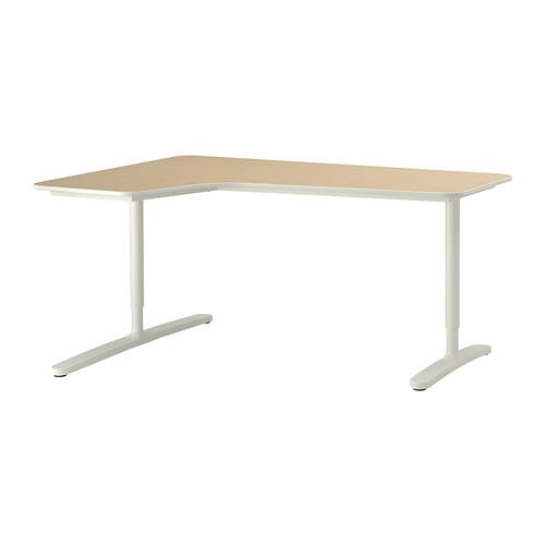 Ikea Bekant Corner Desk Left 10 Year Guarantee Read About The Terms In
