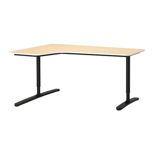 BEKANT Corner desk left IKEA 10 year guarantee.   Read about the terms in the guarantee brochure.