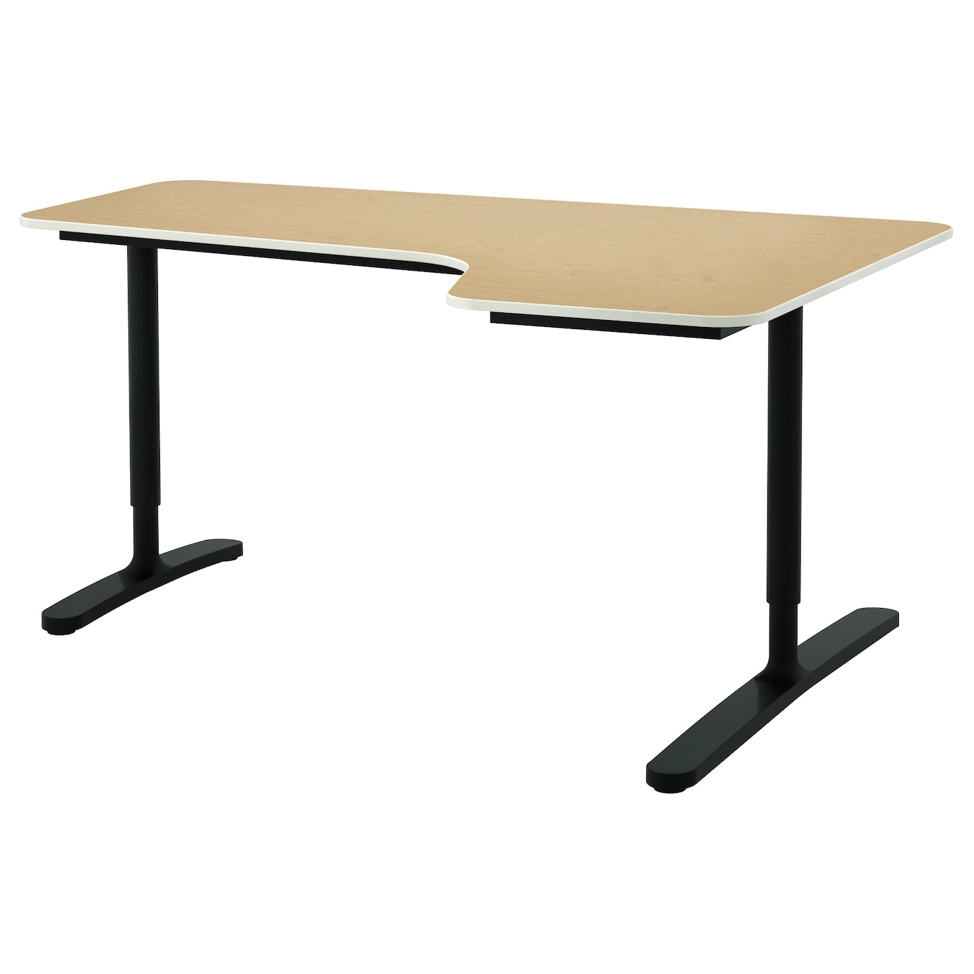 IKEA BEKANT corner desk right 10 year guarantee. Read about the terms in the guarantee brochure.