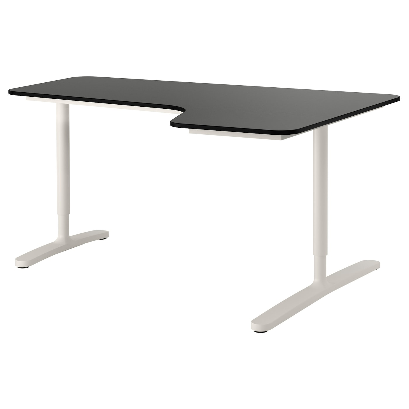 Design Ikea Corner Desk bekant corner desk right black brownwhite 160x110 cm ikea 10 year guarantee read about the terms in guarantee