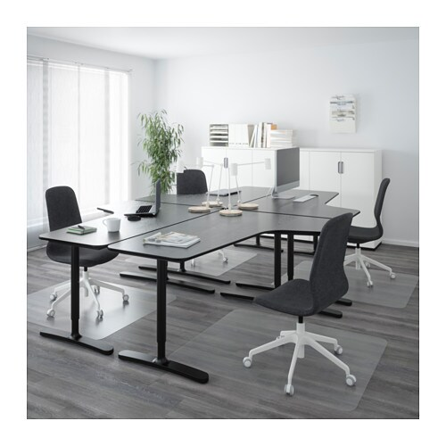 bekant desk combination black brown black 320x220 cm ikea