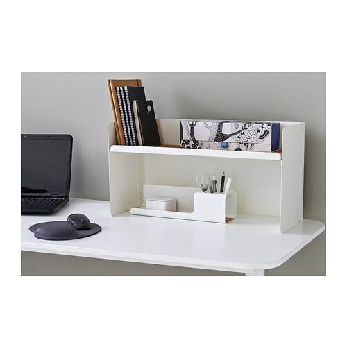 Bekant desk top shelf white 60x32 cm ikea - Ikea desk organizer ...