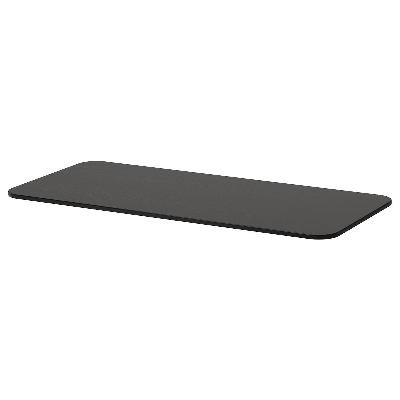 bekant table top black brown 140 x 60 cm ikea. Black Bedroom Furniture Sets. Home Design Ideas