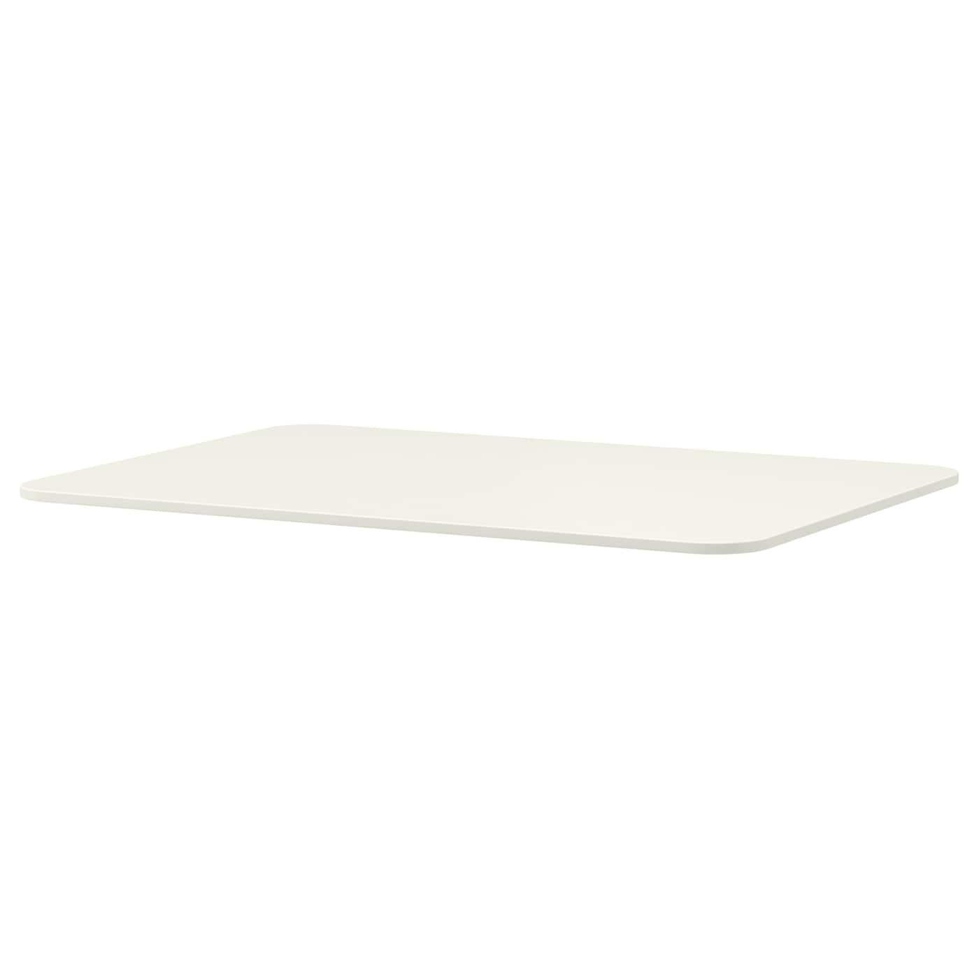 Bekant table top white 120x80 cm ikea for Table 120x80
