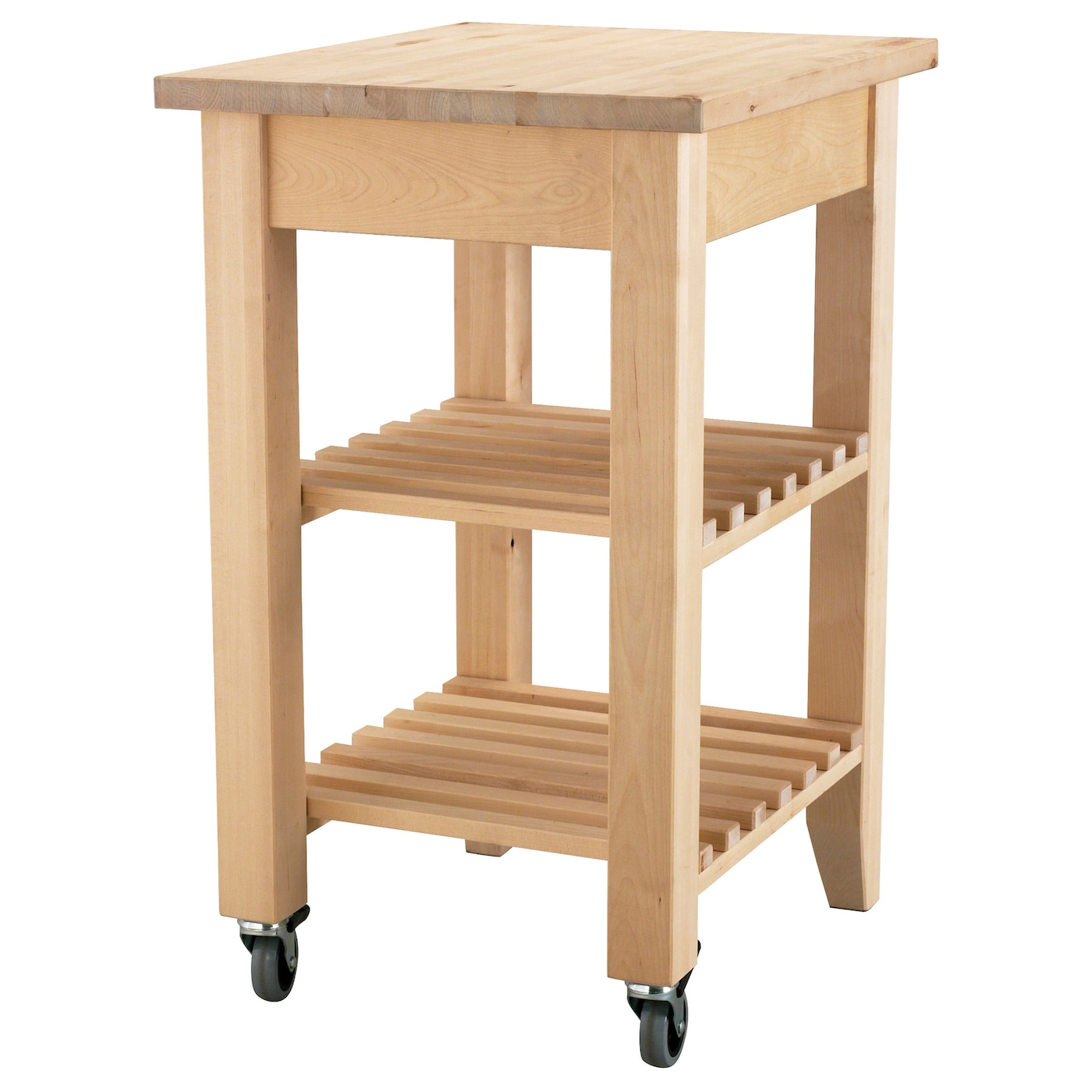Ikea Bekv M Kitchen Trolley Solid Wood Can Be Sanded And Surface Treated As Needed