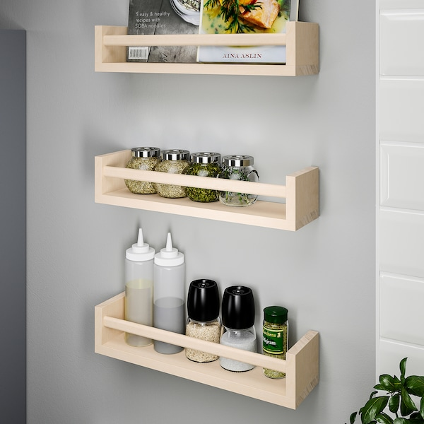 BEKVÄM Spice rack, aspen