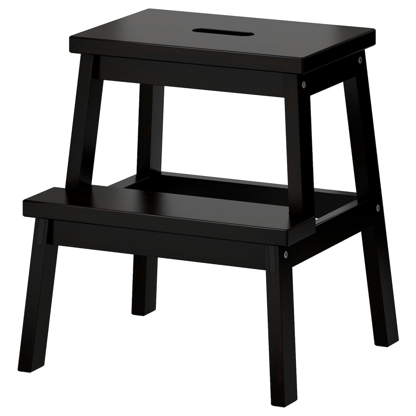 Awesome Step Stool Bekvam Black Ibusinesslaw Wood Chair Design Ideas Ibusinesslaworg