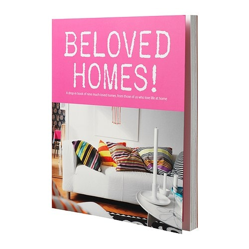 BELOVED HOMES! Book IKEA A book about nine much-loved homes in Scandinavian style.
